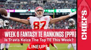 Week 6 Fantasy Football Tight End Rankings (PPR): Jonnu Smith comes back strong after unexpected bye