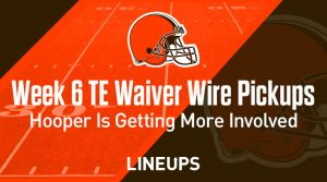Week 6 TE Waiver Pickups & Adds: Austin Hooper Getting Involved In Browns Offense