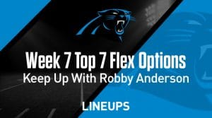 Top Seven Flex Options for Week 7: Justin Jackson to Dominate Jaguars Run Defense