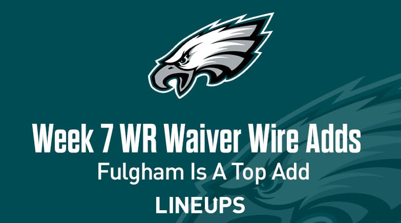 week 7 wr waiver wire