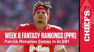 Week 8 Fantasy Football PPR Rankings & Projections: Jonathan Taylor Is Headed For A Monster Week
