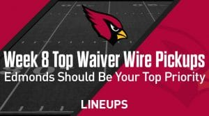 Week 8 Waiver Wire Top Pickups & Adds: Chase Edmonds Should Be Your First Priority