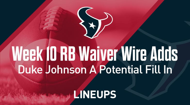week 10 rb waiver wire