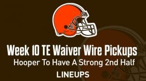 Week 10 TE Waiver Pickups & Adds: Austin Hooper To Have A Strong Second Half