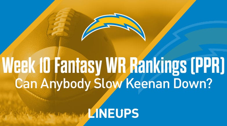 week 10 wr rankings