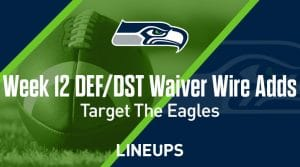Week 12 Defense (DEF/DST) Waiver Wire Pickups: Target The Eagles