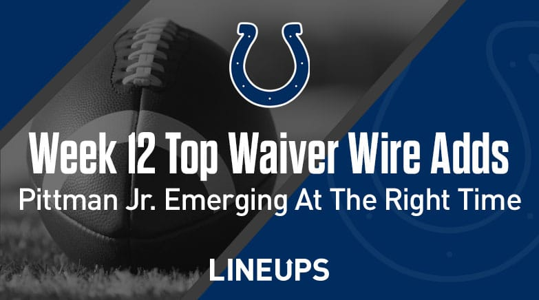 week 12 top waiver wire