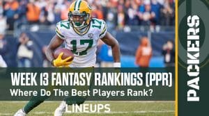 Week 13 Fantasy Football PPR Rankings & Projections: James Robinson's Stellar Rookie Season To Continue