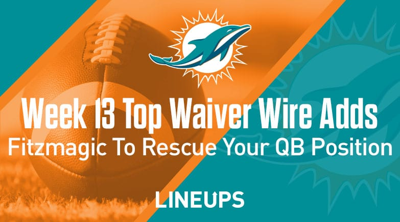 week 13 top waiver wire