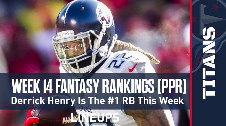 Week 14 Fantasy Football Ppr Rankings Projections Justin Herbert Chargers Ready To Rebound