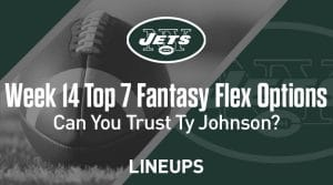 Top Seven Flex Options For Week 14: Can You Trust Ty Johnson in a Plus Matchup?