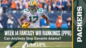 Week 14 WR Rankings & Projections (PPR): DK Metcalf Ready To Shred Jets Secondary