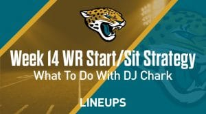 Week 14 WR Start, Sit Fantasy Strategy: What To Do With DJ Chark