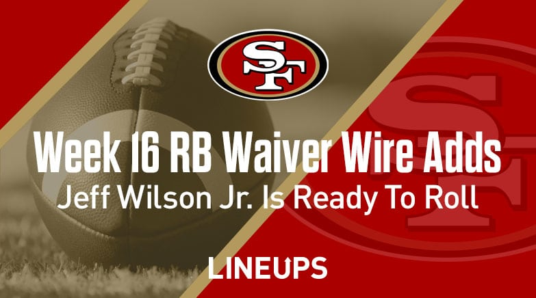 week 16 rb waiver wire