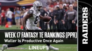 Week 17 Fantasy Football Tight End Rankings (PPR): Irv Smith Jr. is the best available tight end